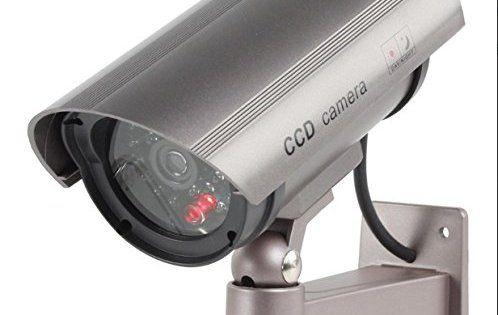 Caméra de surveillance extérieure factice faux Cam 30LED avec clignotant IR infrarouges Design professionnel CCTV MWS: Dimensions 17 x 8…