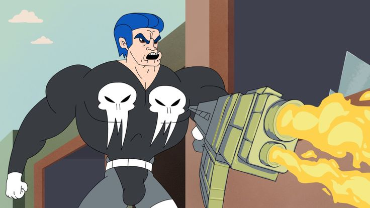 'The Pun-isher', An Animated Video by ADHD Where Frank Castle Deals Death to Everyone With His Weapons and Awful Puns
