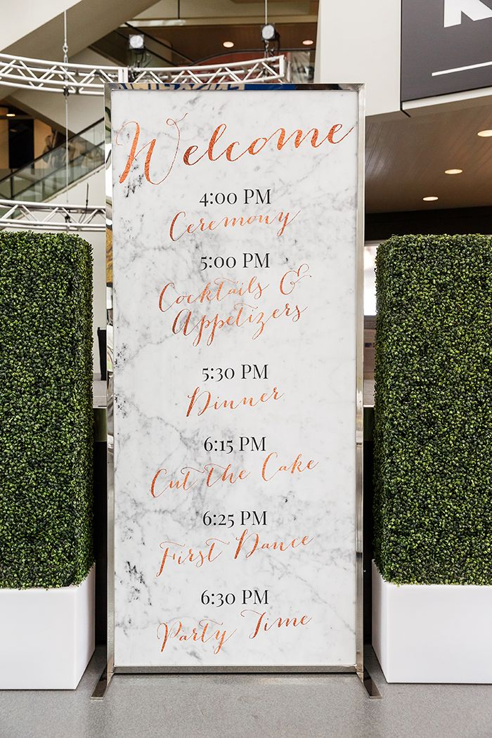 A Modern Mix - A Today's Bride Styled Shoot | Genevieve Nisly Photography | Modern Wedding, Marble and Copper Wedding, Rock and Roll Wedding