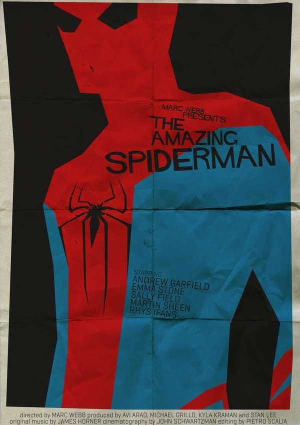 SpiderMan Starring: Andrew Garfield and Emma Stone Rate: 5/10⭐️ Rated: PG-13