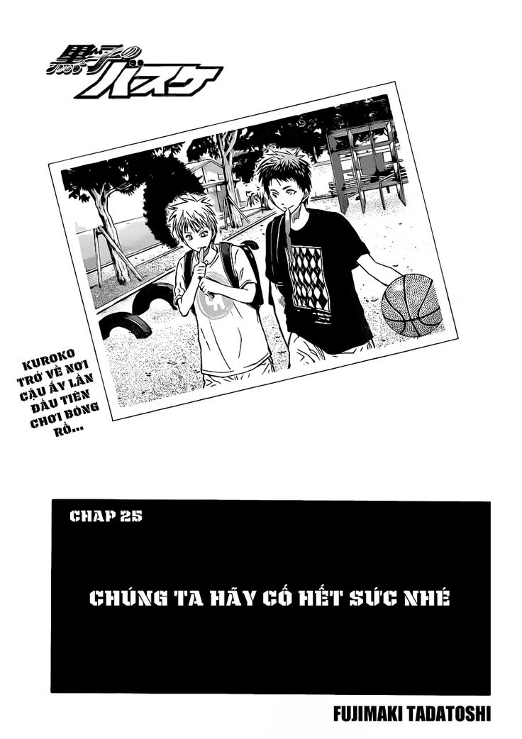 Kuroko No Basket Chap 215: Kuroko & Ogiwara