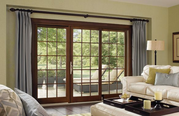 Interior of a beautiful Infinity Sliding French Door