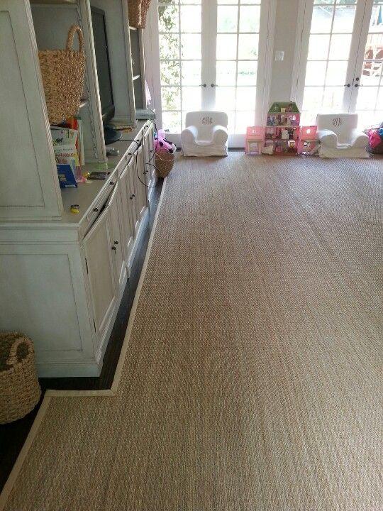 custom fitseagrass rug