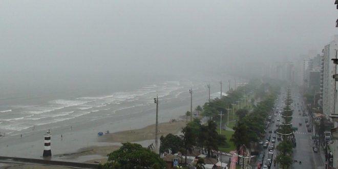 Santos – Durante a madrugada, temperatura alcançou 6,7ºC