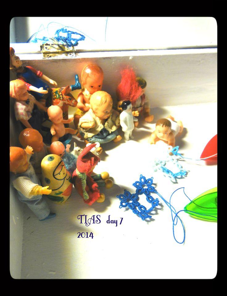 TIAS day 7! Día 7 en el juego de TIAS de Jane Eborall.