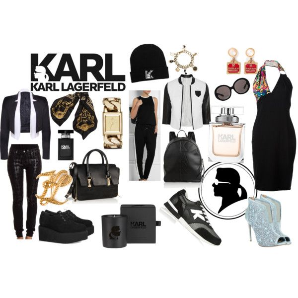 """#It'sAllAboutKarl"" by priscille-amy on Polyvore"