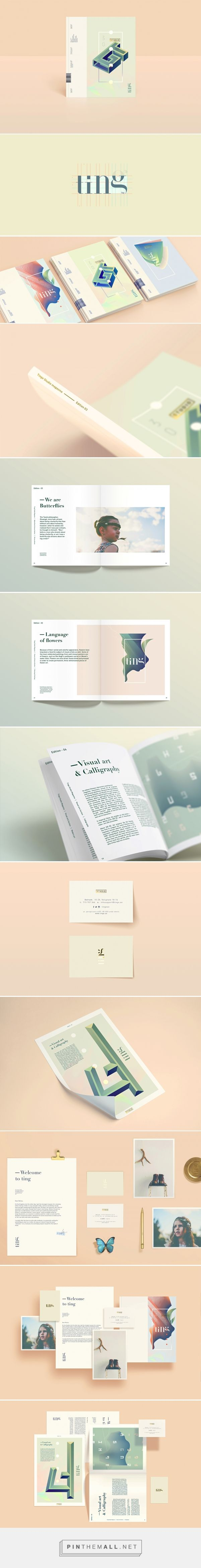 Ting™ — (branding/editorial) on Behance - created via http://pinthemall.net