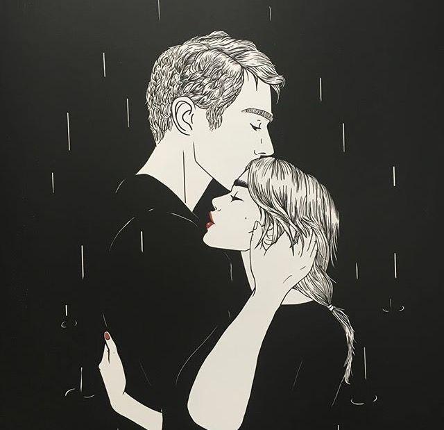 ¿Y si te beso ésta noche? Para alivianar el frío, digo.
