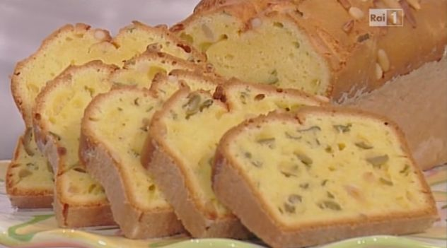 La ricetta del plumcake salato alle olive di Luca Montersino da La prova del cuoco