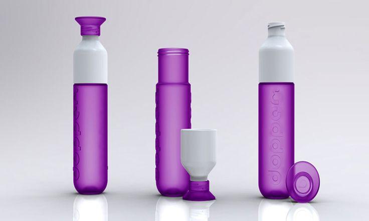Botellas con diseños ecológicos