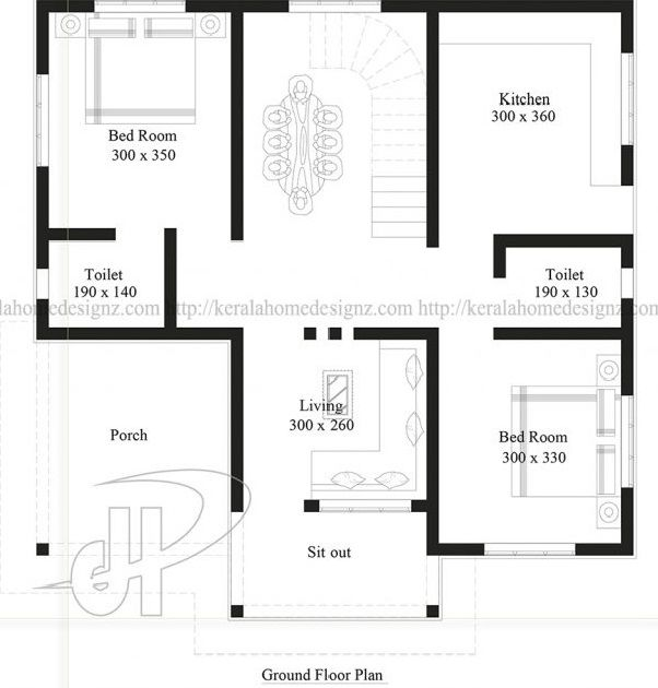 2 Bedroom House Plans Indian Style Best House Plan Design House Plans 2 Bedroom House Plans Bedroom House Plans