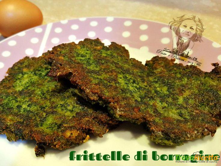Frittelle di borragine  #ricette #food #recipes