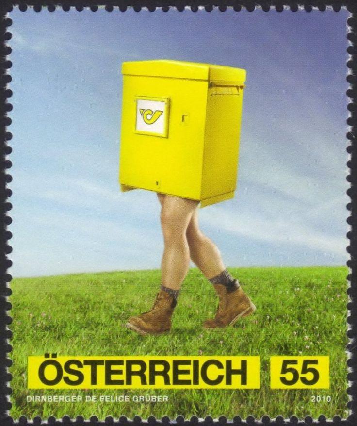 Stamp: Advertising Art – Post (Austria) (Post) Mi:AT 2865,Yt:AT 2693,Sg:AT 3028,ANK:AT 2893,WAD:AT020.10