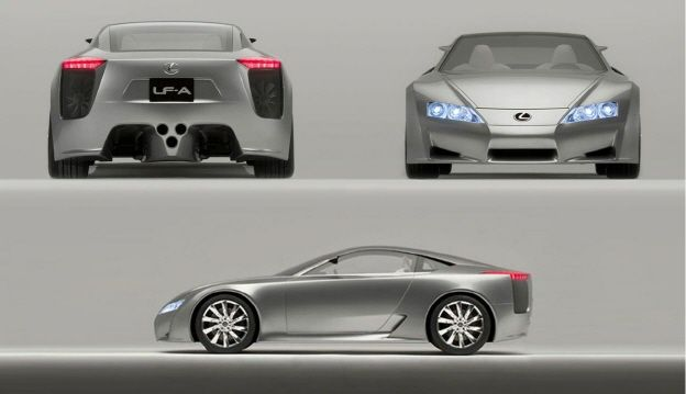 2005 LF-A | Lexus i-Magazine 앱 다운로드 ▶ http://www.lexus.co.kr/magazine #ConceptCar #Lexus