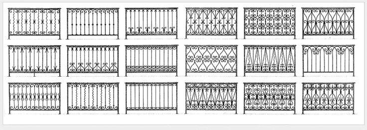 17 meilleures id es propos de balustrades en fer forg for Fer forge balcon