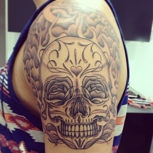 original tattoo skulls - photo #36