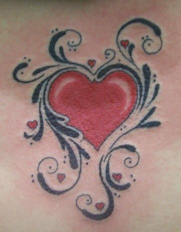 I never realized how stuck on heart tats I am...I think I must give up and just embrace the hearts.