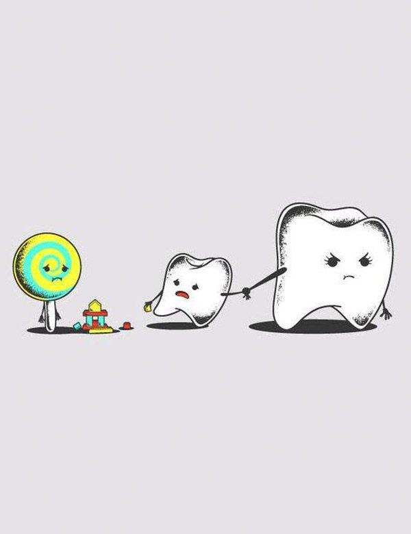 Los caramelos pegajosos, masticables e incluso los frutos secos pueden ser una importante fuente de caries dental para nuestros peques, sobre todo cuando se quedan atascados en las grietas entre los dientes y no son retirados mediante el cepillado o el hilo dental. #Cuidados #Dentistas
