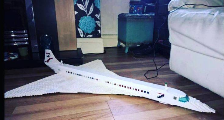 When you just need to add #lego #wheels to complete your #legomoc of a #concorde ... #concord #concordia #plane #speedoflight #speedofsound #flightattendant #fly #flight #airline #airlines #airliner #legoart #legostarwars #legomarvel #legoland