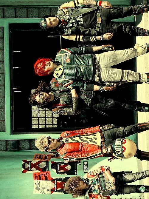 just look at you killjoys.... All fabulous and what not