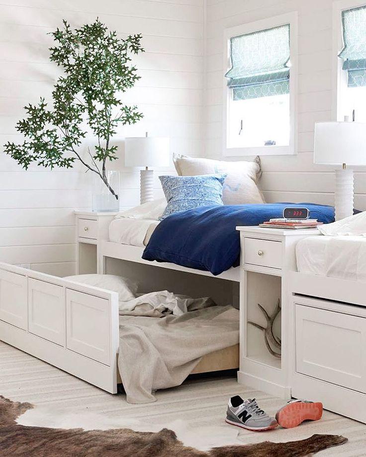 Instagram Kid beds, Corner bunk beds, Bunk beds built in