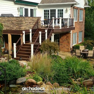 Best 25 under deck landscaping ideas on pinterest patio for Landscaping rocks des moines