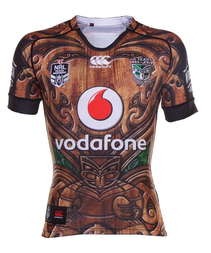 2015 Vodafone Warriors Heritage Jersey Adults - Large