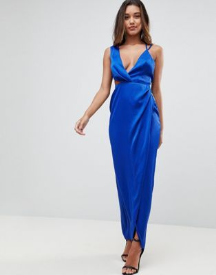 5f973cb03dc ASOS Sexy Cut Out Strappy Maxi Dress | Masters Graduation in 2019 ...