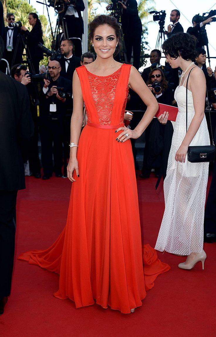 Festival Internacional de Cine de Cannes 2013 alfombra roja red carpet photocall - Ximena Navarrete en la premiere de 'Zulu'