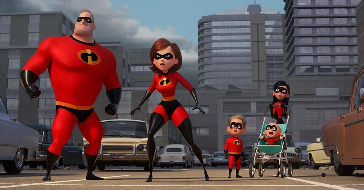 Here's your first look at #Incredibles2. 💥 See the film June 15, 2018.