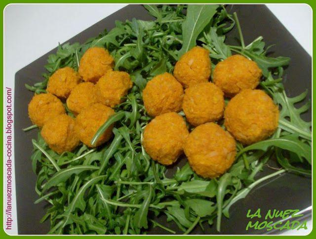 Polpettine di soia gialla e carote - Mini albóndigas de soja amarilla y zanahoria - http://www.ricercadiricette.it/r/polpettine-di-soia-gialla-e-carote---mini-alb%C3%B3ndigas-de-soja-amarilla-y-zanahoria-2062158.html
