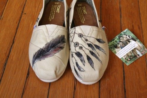 Native American Inspired, Feather Dream Catcher shoes dreamcatcher feathers