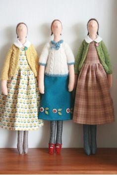 куклы тряпичные More