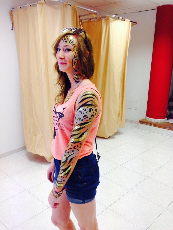Zoo Project Ibiza body paint