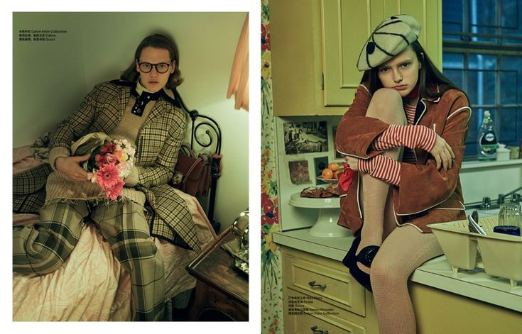 The Look of Love: Shxpir Captures Geek Chic Style for Bazaar China  Read more: http://www.fashiongonerogue.com/look-love-geek-chic-shxpir/#ixzz3z2r11qZF