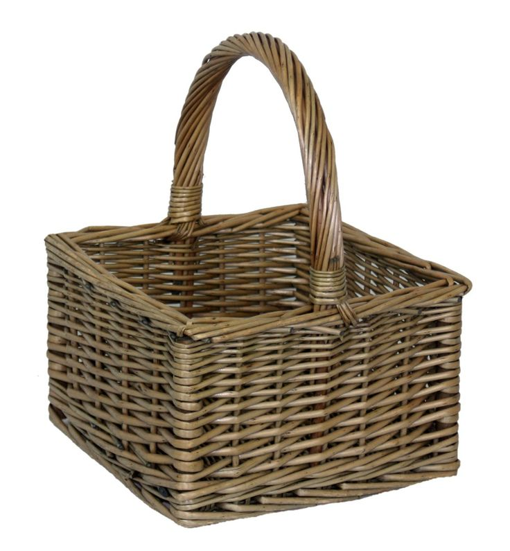Antique Wash Square Shopping Basket - http://redhamper.co.uk/antique-wash-square-shopping-basket-1/  #shoppingbaskets #shoppingbaskets