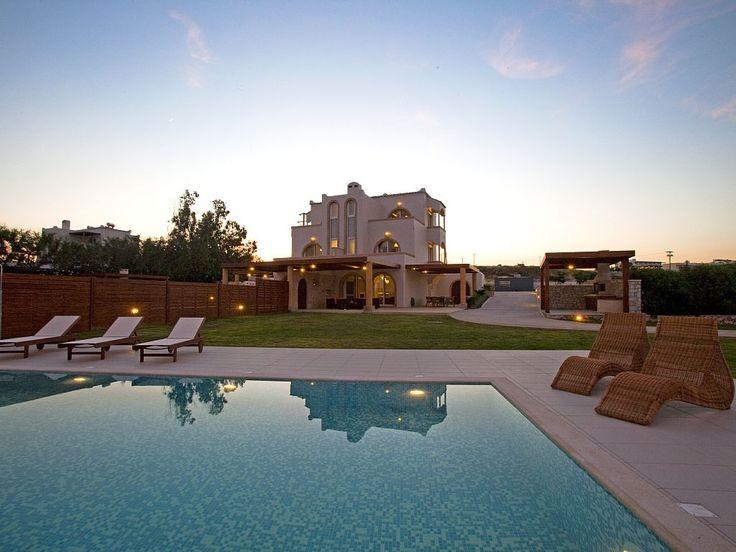 Kiotari villa rental - Kiotari Beach Villa. Luxury Waterfront House in Rhodes