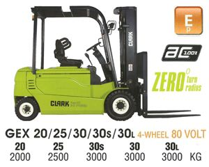 Clark GEX 20 Electric Forklift