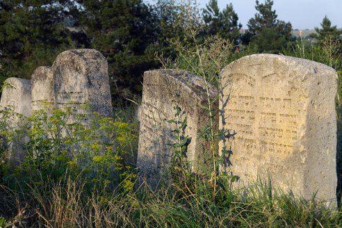 Buchach, Galicia - Jewish cemetery. By Christian Herrmann