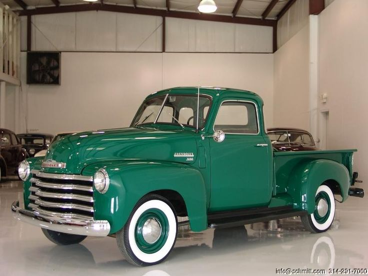 DANIEL SCHMITT & CO CLASSIC CAR GALLERY PRESENTS: 1950 CHEVROLET 3100 5 WINDOW PICK-UP TRUCK