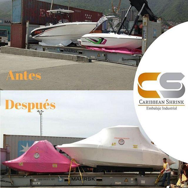 Agradecidos con nuestro cliente @pronauticaboats por seguir confiando en la calidad de nuestro servicio de embalaje termoencogible.   #ShrinkWrap #EmbalajeTermoencogible #IndustriaNáutica #Botes #Yates #Motores #Calidad #BuenServicio #LatinoAmérica #IslasDelCaribe