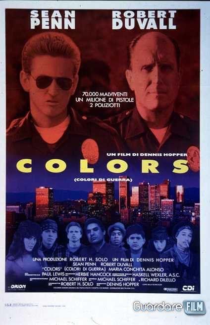 Colors - Colori di guerra Streaming/Download (1987) HD/ITA Gratis | Guardarefilm: http://www.guardarefilm.me/streaming-film/10314-colors-colori-di-guerra-1987.html