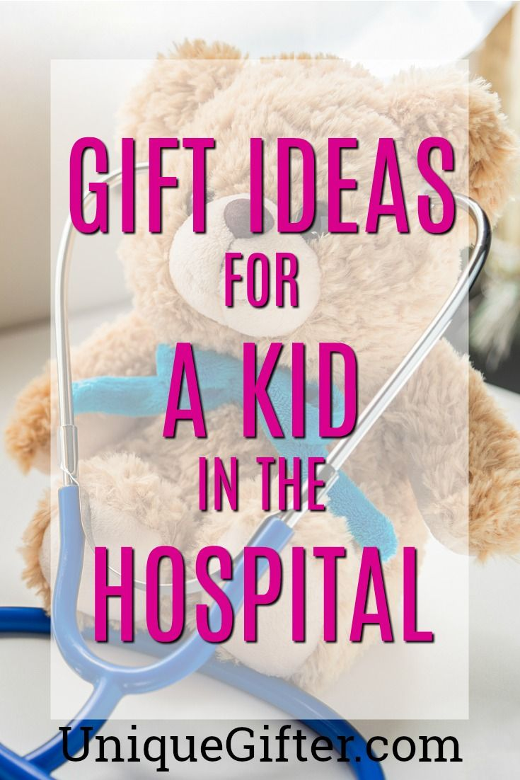 Gifts for a Kid in the Hospital | Gift Ideas for a Sick Kid | Hospital Care Package for Family | What to buy a Child in the Hospital | Get Well ...