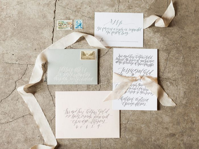 Urban Crowns by Kate Weinstein Photo: Photos, Grey Wedding Invitations, Paper, Weinstein Photo, Grey Weddings, Wedding Stationery, Kate Weinstein, Urban Crowns, Love Calligraphy