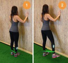 Três exercícios feitos com elástico para deixar as pernas e bumbum durinho…