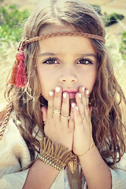 Sun Kissed Summer looks for the little's Mini Boho Princess. coachella vibes, outfit inspiration. Jewelry for girls, festival style.Cute kids, mini model. Beautiful People. Hair. Necklaces. Turquoise. Fringe