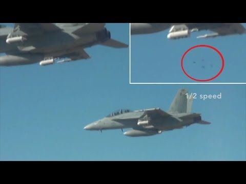 US Fighter Jets Launch Drone Swarm Of Hundreds Micro Drones Perdix UAV Test