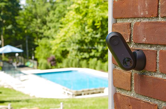 The first and only indoor and outdoor, weatherproof, HD security camera that can be used wire-free or plugged in.