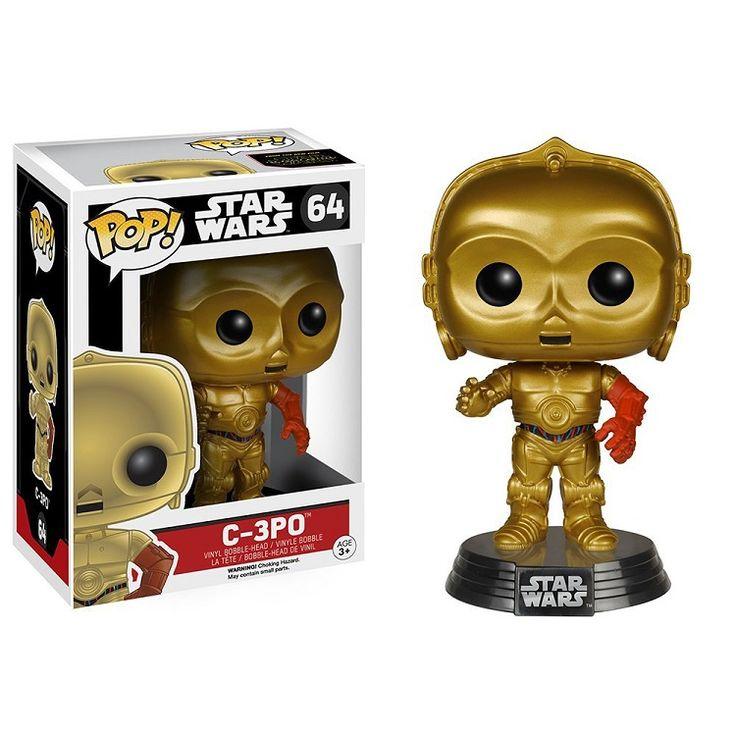 $6.90 Original Funko POP Star Wars The Force Awakens Action Figure C3PO #StarWars #C3PO