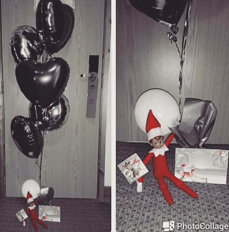Birthday Elf on a Shelf